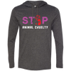 Image of Stop Animal Cruelty 987 Anvil LS T-Shirt Hoodie