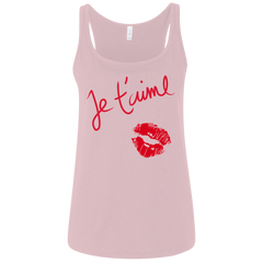 Je t'aime 6488 Bella + Canvas Ladies' Relaxed Jersey Tank