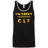 Image of Cat Shirts For Guys Unisex Tank