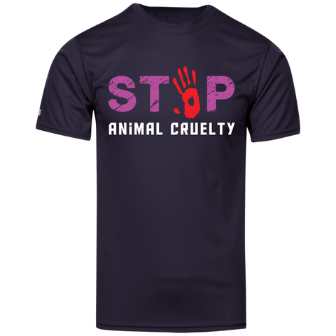 Stop Animal Cruelty 222520 Holloway Polyester T-Shirt