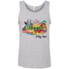 Image of Malaysia Truly Asia T-Shirt 986 Anvil 100% Ringspun Cotton Tank Top