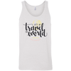 Image of Let's Go Travel The World T-Shirt 3480 Bella + Canvas Unisex Tank