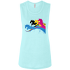 Image of Amazing Horse Shirt B8803 Bella + Canvas Ladies' Flowy Muscle Tank