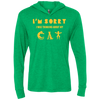Image of Best Cat Shirt Ever LS Hooded T-Shirt