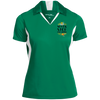 Image of Never Stop Dreaming Polo Shirt Ladies' Colorblock Performance Polo