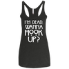 Image of American Horror Story NL6733 Next Level Ladies' Triblend Racerback Tank