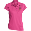 Image of Never Stop Dreaming Polo Shirt Ladies' Contrast Stitch Performance Polo