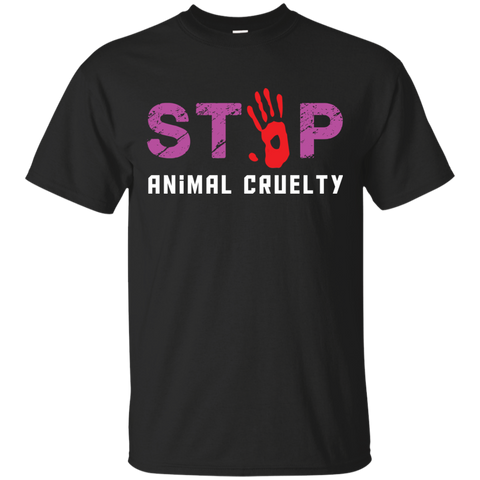 Stop Animal Cruelty G200 Gildan Ultra Cotton T-Shirt