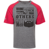 Image of Cheap Beard T Shirts Tri-blend Heathered T-Shirt