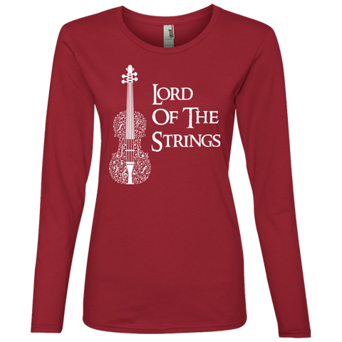 Lord Of The Strings T-Shirt 884L Anvil Ladies' Lightweight LS T-Shirt