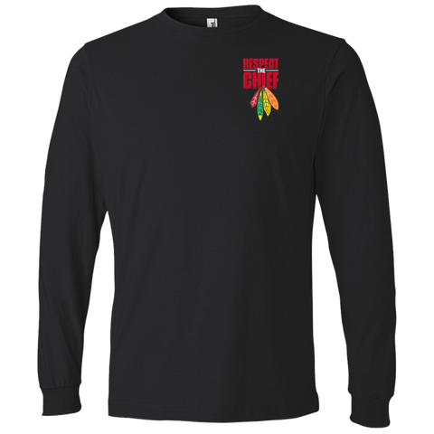 Respect The Chief 949 Anvil Lightweight LS T-Shirt
