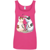 Image of Cool Cat Shirts 882L Anvil Ladies' 100% Ringspun Cotton Tank Top
