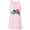 Image of Amazing Horse Shirt B8800 Bella + Canvas Flowy Racerback Tank