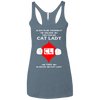 Image of Cat Lady NL6733 Next Level Ladies' Triblend Racerback Tank