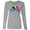 Image of Amazing Horse Shirt 884L Anvil Ladies' Lightweight LS T-Shirt