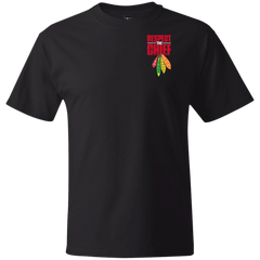 Respect The Chief 5180 Hanes Beefy T-Shirt