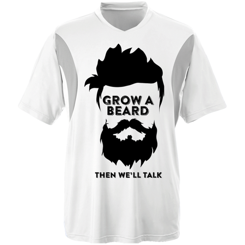 Grow A Beard Then We'll Talk TT10 Team 365 All Sport Jersey