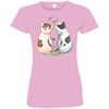 Image of Cool Cat Shirts 3516 LAT Ladies' Fine Jersey T-Shirt