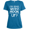 Image of American Horror Story LST360 Sport-Tek Ladies' Heather Dri-Fit Moisture-Wicking T-Shirt