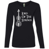 Image of Lord Of The Strings T-Shirt 884L Anvil Ladies' Lightweight LS T-Shirt