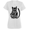 Image of Time Spent With Cats Is Never Wasted 1790 Augusta Ladies' Wicking T-Shirt