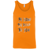 Image of Be Brave Be Bold Be You T'Shirt 3480 Bella + Canvas Unisex Tank