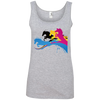 Image of Amazing Horse Shirt 882L Anvil Ladies' 100% Ringspun Cotton Tank Top