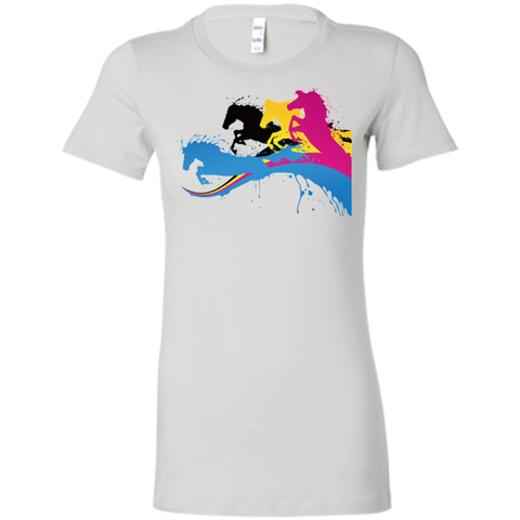 Amazing Horse Shirt 6004 Bella + Canvas Ladies' Favorite T-Shirt