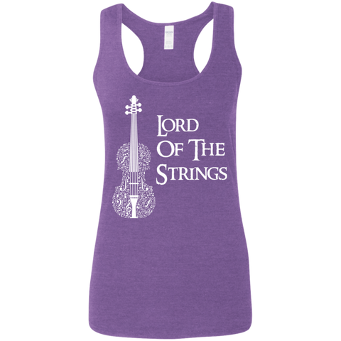 Lord Of The Strings T-Shirt G645RL Gildan Ladies' Softstyle Racerback Tank