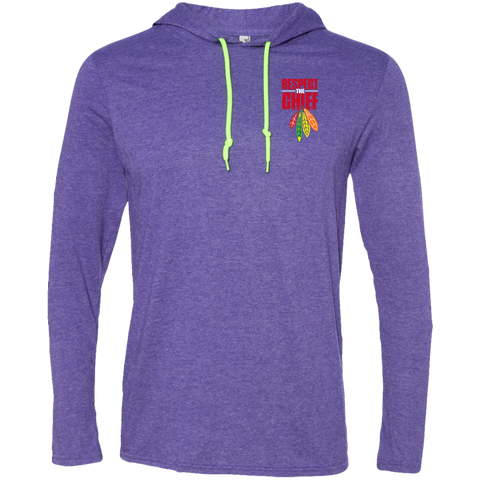 Respect The Chief 987 Anvil LS T-Shirt Hoodie