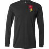 Image of Respect The Chief 3501 Bella + Canvas Men's Jersey LS T-Shirt