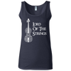 Image of Lord Of The Strings T-Shirt G642L Gildan Ladies' Softstyle Fitted Tank