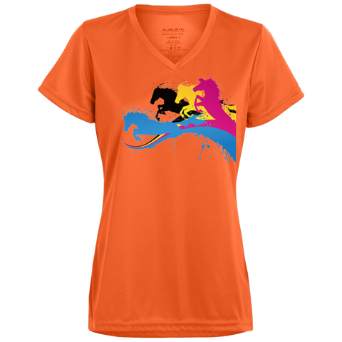 Amazing Horse Shirt 1790 Augusta Ladies' Wicking T-Shirt
