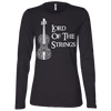 Image of Lord Of The Strings T-Shirt B6450 Bella + Canvas Ladies' Jersey LS Missy Fit