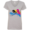 Image of Amazing Horse Shirt 88VL Anvil Ladies' V-Neck T-Shirt