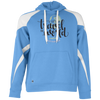 Image of Let's Go Travel The World T-Shirt 229546 Holloway Colorblock Hoodie