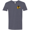 Image of Indian Chief G64V Gildan Men's Softstyle 4.5 oz V-Neck T-Shirt