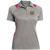 Image of Never Stop Dreaming Polo Shirt Ladies' Heather Moisture Wicking Polo