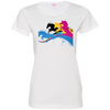 Image of Amazing Horse Shirt 3516 LAT Ladies' Fine Jersey T-Shirt