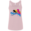 Image of Amazing Horse Shirt 6488 Bella + Canvas Ladies' Relaxed Jersey Tank
