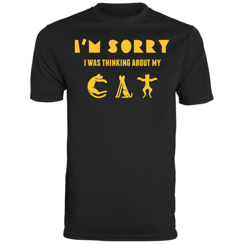 Shirt With Cat Augusta Men's Wicking T-Shirt