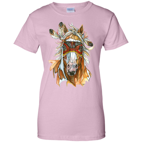 Equestrian T Shirts G200L Gildan Ladies' 100% Cotton T-Shirt