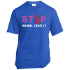 Image of Stop Animal Cruelty USA100 Port & Co. Made in the USA Unisex T-Shirt