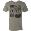 Image of Beard Quote Shirts Men's Triblend T-Shirt
