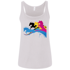 Amazing Horse Shirt 6488 Bella + Canvas Ladies' Relaxed Jersey Tank