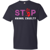 Image of Stop Animal Cruelty 980 Anvil Lightweight T-Shirt 4.5 oz