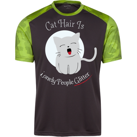 Funny Cat Shirts For Guys Colorblock T-Shirt