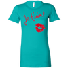 Image of Je t'aime 6004 Bella + Canvas Ladies' Favorite T-Shirt