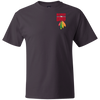 Image of Respect The Chief 5180 Hanes Beefy T-Shirt