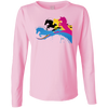Image of Amazing Horse Shirt 3588 LAT Ladies' LS Cotton T-Shirt